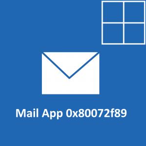Как исправить код ошибки 0x80072f89 в Windows 10?