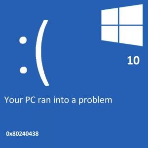 Как исправить ошибку магазина приложений Windows 10 0 × 80240438