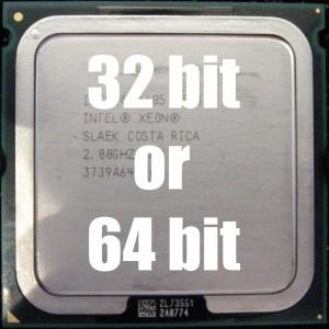 Мой компьютер 32 или 64 бит?