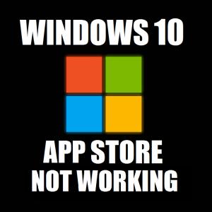 Магазин приложений Windows 10 не открывается