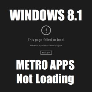Как исправить проблемы с загрузкой приложений Windows 8.1