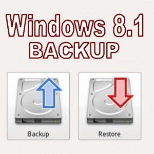Как сделать резервную копию файлов и папок Windows 8.1
