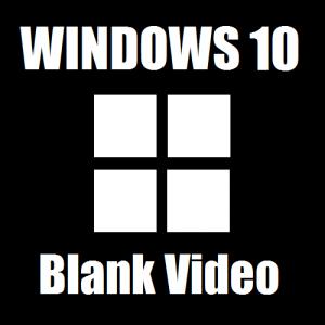 Как исправить черный экран видео в Windows 10