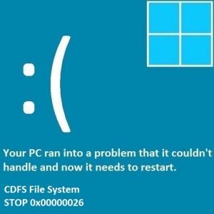 Как исправить ошибку CDFS_FILE_SYSTEM