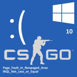 Как исправить ошибки синего экрана CSGO в Windows 10