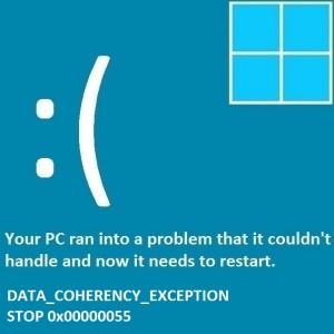 Как исправить ошибку Data_Coherency_Exception