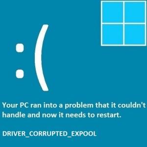 Как исправить ошибку Driver_Corrupted_Expool