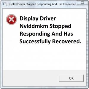 Как исправить драйвер дисплея, когда он перестает отвечать?