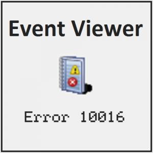 Ошибка 10016 появляется при каждом завершении работы в Windows 10