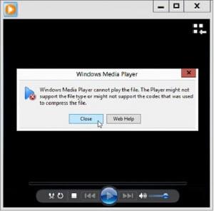 Как воспроизводить видео, когда тип файла не распознается
