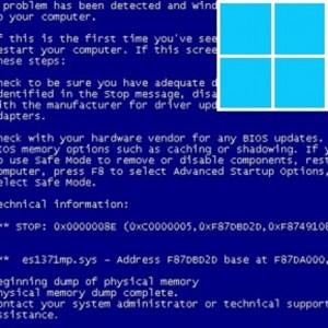 Исправить синий экран смерти (BSoD) в Windows 8