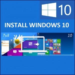 Как установить Windows 10 с помощью Центра обновления Windows и средства создания мультимедиа?