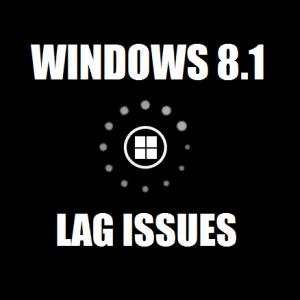Как исправить отставание в Windows 8.1