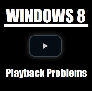 Устранение неполадок при отсутствии воспроизведения видео в Windows 8 Professional