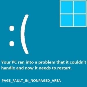 Как исправить ошибку Page_Fault_In_Nonpaged_Area