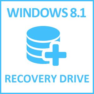 Как сделать диск восстановления Windows 8.1