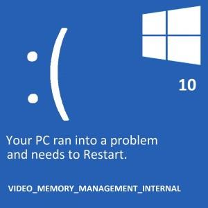 Как исправить ошибку Nvidia Video_Memory_Management_Internal в Windows 10?