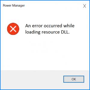 Как исправить ошибку индикатора Power Manager при запуске Windows 10