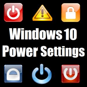 Спящий режим и настройки питания не работают в Windows 10