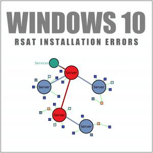 Как исправить ошибки установки RSAT в Windows 10?