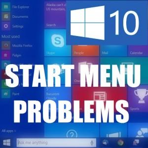 """Меню """"Пуск"""" в Windows 10 не работает!"""