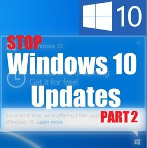 Остановить обновление Windows 10 от автоматической установки драйверов и обновлений – Часть 2