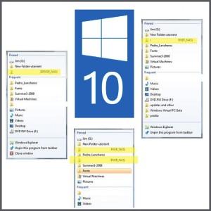 Не удается открепить сетевое расположение в Windows 10