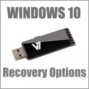 Как использовать параметры восстановления Windows 10?