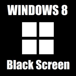 Как исправить черный экран в Windows 8