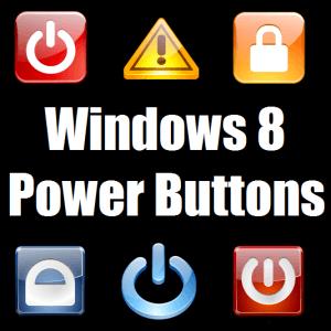 Устранение неполадок с кнопками питания в Windows 8