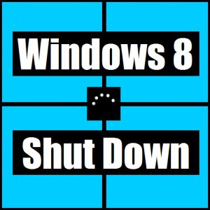 Устранение неполадок, связанных с командой завершения работы Windows 8