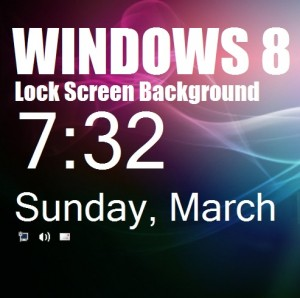 Как изменить фон Windows 8 перед входом в систему