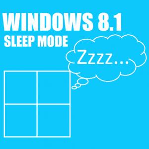 Как активировать спящий режим Windows 8.1