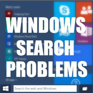 Как исправить проблемы с поиском Windows