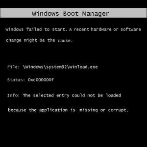 Как исправить ошибку «winload.exe is missing» при установке Windows 7