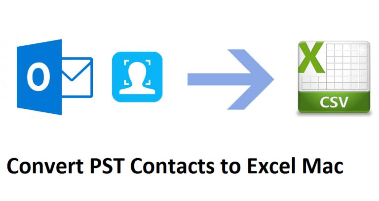 Преобразование контактов PST в Excel Mac с помощью бесплатного руководства
