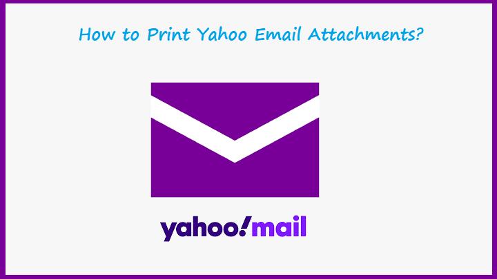 Печать вложений электронной почты Yahoo — мгновенное решение