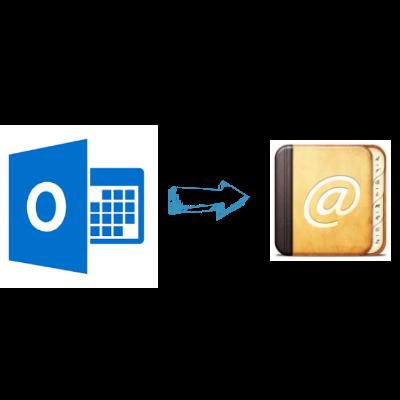 Извлечение адресов электронной почты из Outlook с помощью бесплатного ручного метода