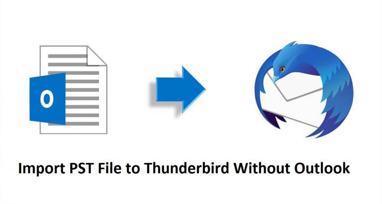 Импорт файла PST в Thunderbird без Outlook на Mac