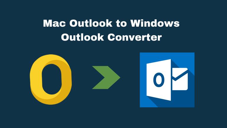 Лучшие способы 2 для переноса Mac Outlook в Windows Outlook 2019/16/13
