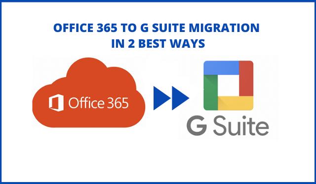 Переход с Office 365 на G Suite