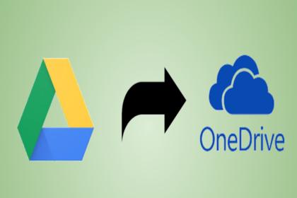 Копирование файлов с Google Диска в OneDrive – 4 невероятных способа