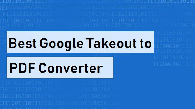 Конвертер Google Takeout в PDF – узнайте, как легко конвертировать данные