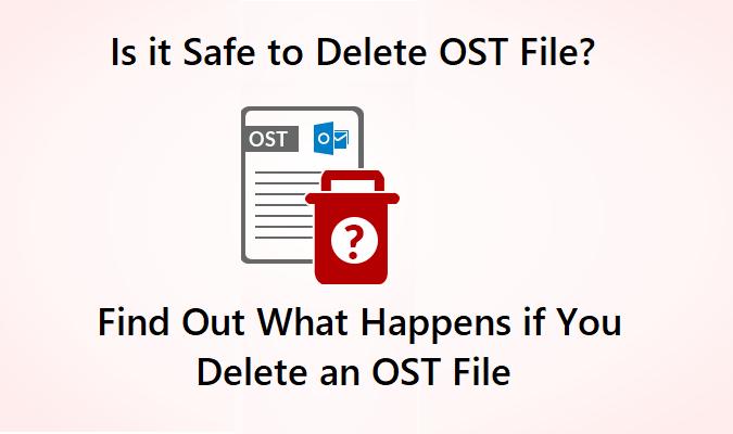 Безопасно ли удалять файл OST?  На запросы даны подробные ответы