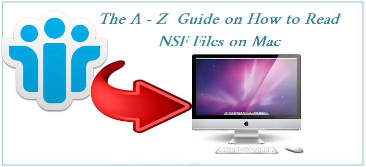 Полное руководство о том, как читать файлы NSF на Mac