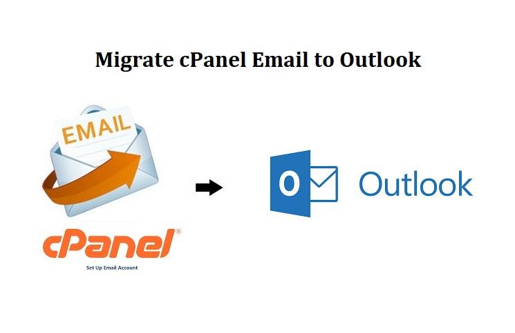 Перенести электронную почту cPanel в Outlook