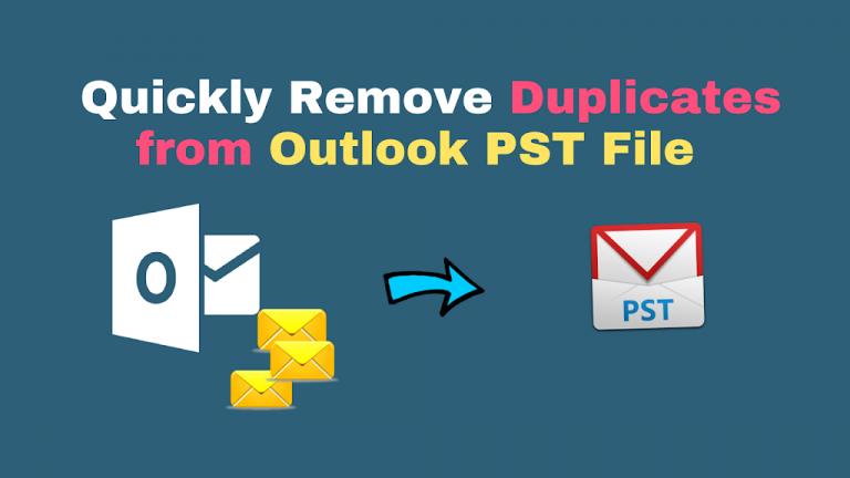 Удалите повторяющиеся электронные письма в Outlook, используя различные советы и хитрости!