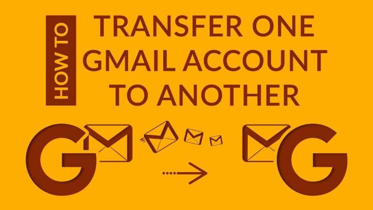 Как перенести данные из одной учетной записи Gmail в другую