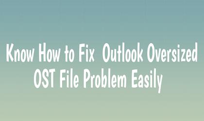Проблема с файлом OST большого размера в Outlook – узнайте, как решить эту проблему