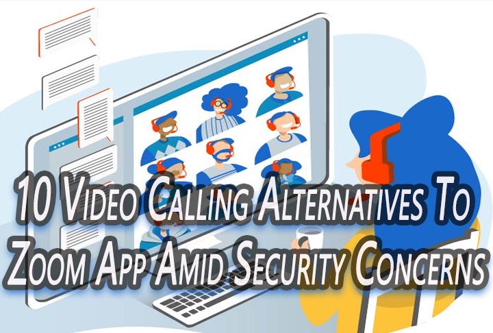 10 альтернатив видеозвонкам для приложения Zoom на фоне проблем с безопасностью